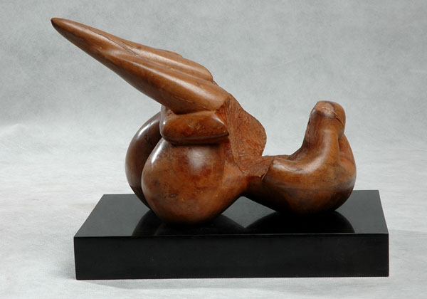 This is the original sculpture - in wood