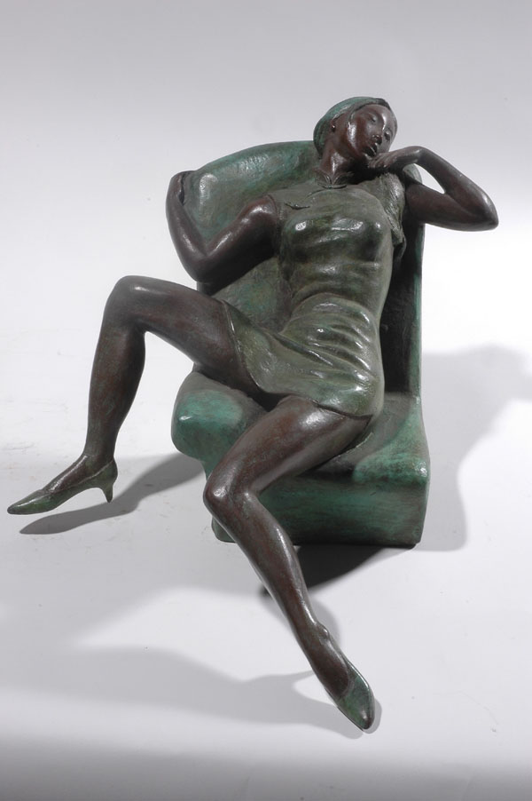 Provocation IV- an erotic scu;pture by Zhang Yaxi