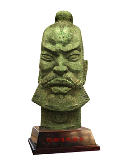 "Click here to view a larger image of ""General Ba"" and purchase details for this contemporary Chinese sculpture"